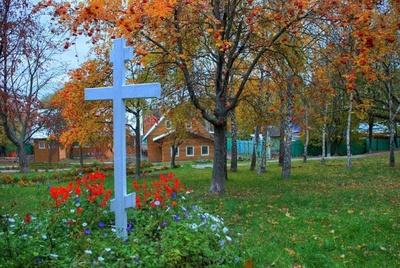 Монастырский крест