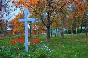Крест Свято-Николо-Тихвинского женского монастыря